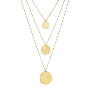 This necklace can be worn in 1, 2 or 3 layers!