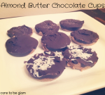 Almond Nut Butter Chocolate Cups