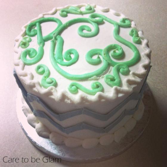 My Monogram Cake