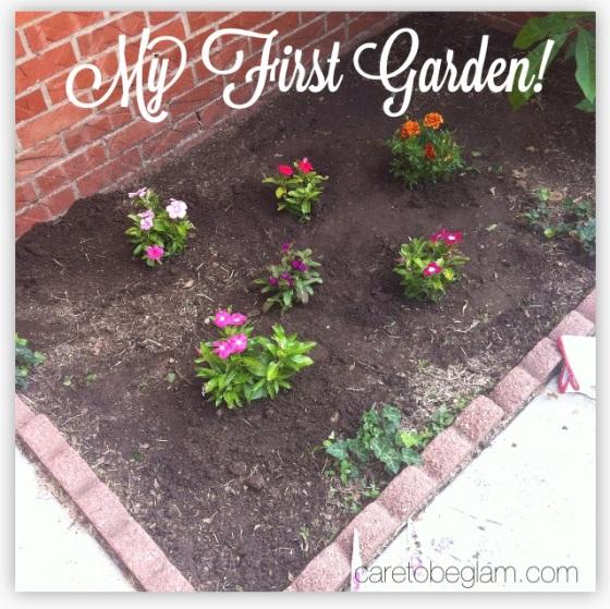 Planting a Garden...My 1st Flower Garden