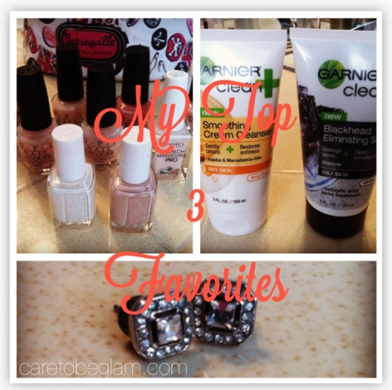 My Top 3 Favorites [caretobeglam]